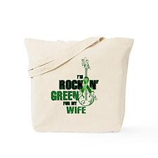 RockinGreenForWife Tote Bag