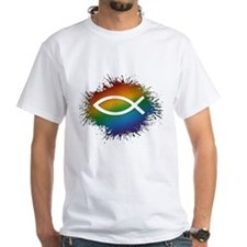 LGBT Christian Fish Shirt