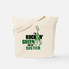 RockinGreenForSister Tote Bag