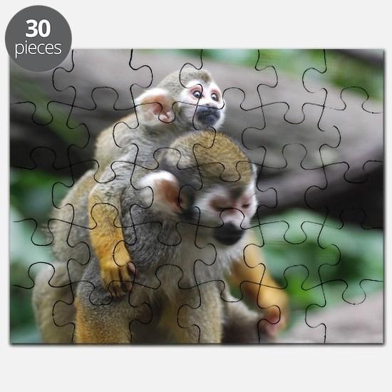 Pair of Squirrel Monkeys Puzzle