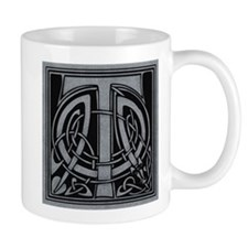 Celtic Monogram T Mug