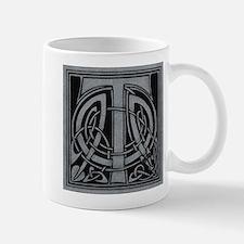 Celtic Monogram T Mug