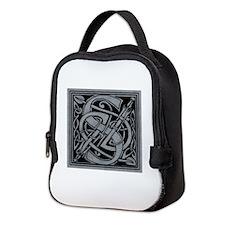 Celtic Monogram S Neoprene Lunch Bag
