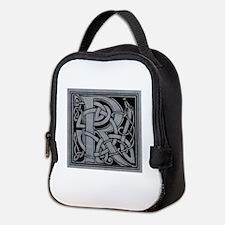 Celtic Monogram R Neoprene Lunch Bag