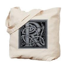 Celtic Monogram R Tote Bag