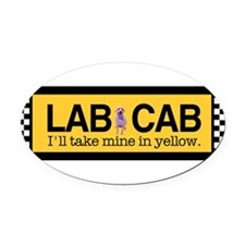 Cute Labs Oval Car Magnet