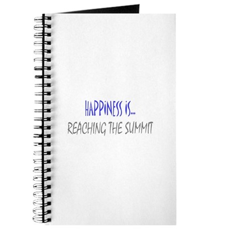 Happiness is Reaching Summit Journal