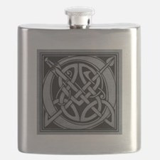 Celtic Monogram O Flask