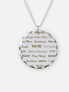 WINE WORDS Necklace