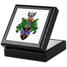 Knight coat of arms Keepsake Box
