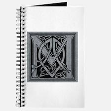 Celtic Monogram M Journal