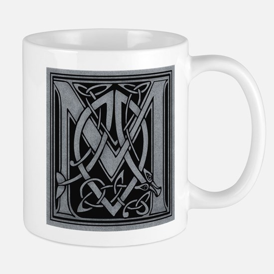 Celtic Monogram M Mug