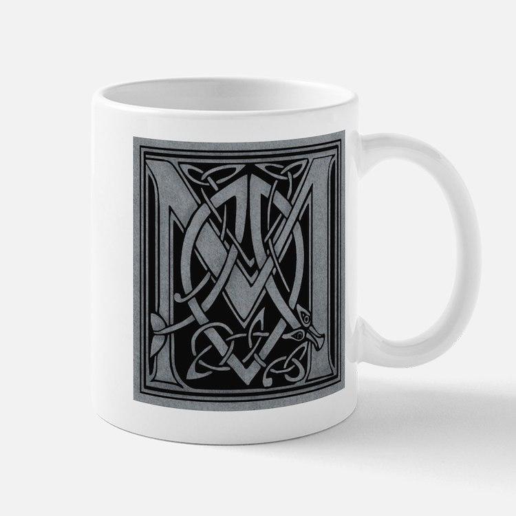 Celtic Monogram M Mug