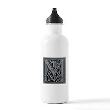 Celtic Monogram M Water Bottle