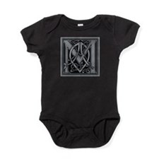 Celtic Monogram M Baby Bodysuit