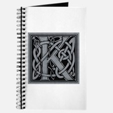 Celtic Monogram K Journal