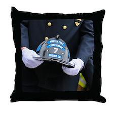 Tribute to Fallen Firefighter Michael Throw Pillow