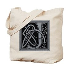 Celtic Monogram J Tote Bag