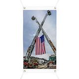 Fallen firefighter Banners