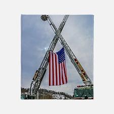 Fallen Firefighter  Throw Blanket