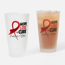 AIDS Hope Drinking Glass