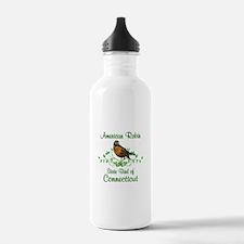 Robin Connecticut Bird Water Bottle
