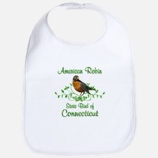 Robin Connecticut Bird Bib