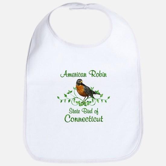 Robin Connecticut Bird Bib