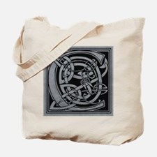 Celtic Monogram C Tote Bag
