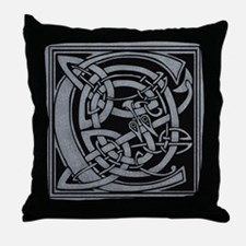 Celtic Monogram C Throw Pillow