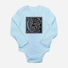 Celtic Monogram C Long Sleeve Infant Bodysuit