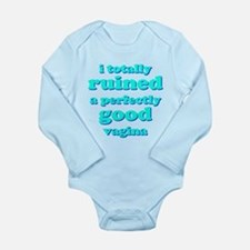 Funny baby! I ruined a vagina... Body Suit