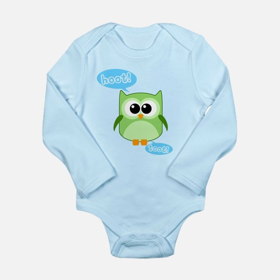 Funny! - Owl Hoot and Toot! Body Suit