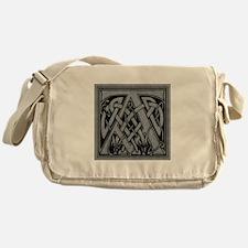 Celtic Monogram A Messenger Bag