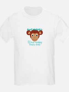 Personalize Love monkey T-Shirt