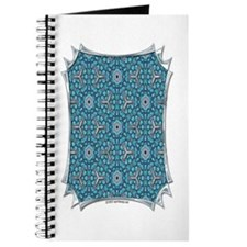 Turquoise & Silver Pattern Journal
