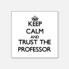 Keep Calm and Trust the Professor Sticker