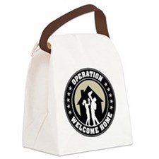 Operation Welcome Home Canvas Lunch Bag