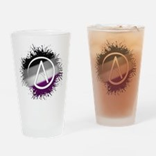Atheist Symbol Asexual Drinking Glass