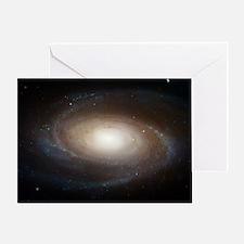 M81 Spiral Galaxy Grand Design Greeting Card