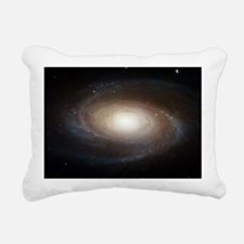 M81 Spiral Galaxy Grand  Rectangular Canvas Pillow