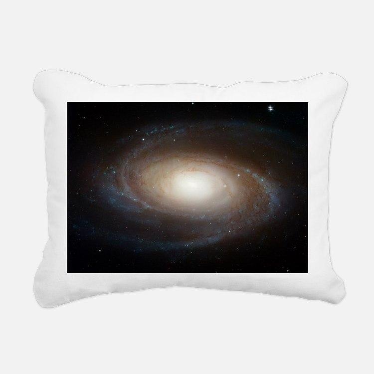 M81 Spiral Galaxy Grand  Rectangular Canvas Pillow