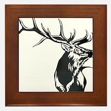 Sevens Elk Framed Tile