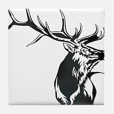 Sevens Elk Tile Coaster