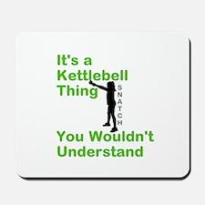 Kettlebell Thing Mousepad