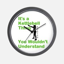 Kettlebell Thing Wall Clock