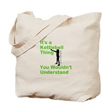 Kettlebell Thing Tote Bag
