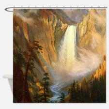 Yellowstone Falls Shower Curtain