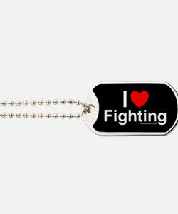 Fighting Dog Tags