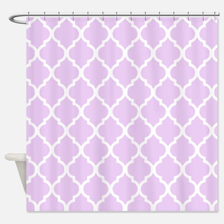 Lavender Shower Curtains   Lavender Fabric Shower Curtain ... Lavender Shower Curtains